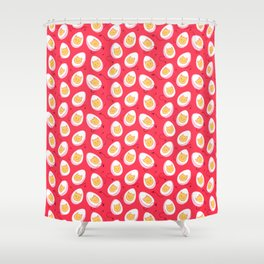 Deviled Eggs Shower Curtain