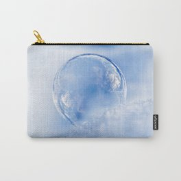 Blue Sky Bubble Carry-All Pouch