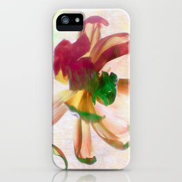 Dancing Tulip iPhone Case