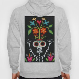 Happy Skelly with Tree Hoody