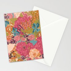 English Garden in Rose  Stationery Cards