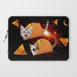 Taco Cats Space Laptop Sleeve