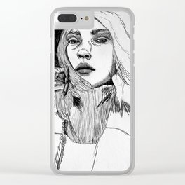 love my scars Clear iPhone Case