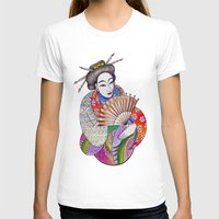 geisha T-shirts featuring Geisha by LuxMundi