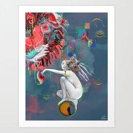 Born To Art Print