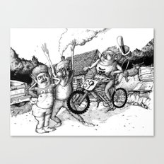 Kid Icarus Canvas Print