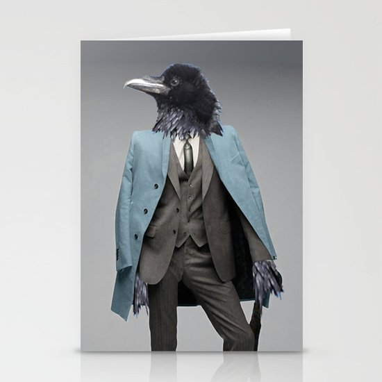 dapper crow Stationery Cards