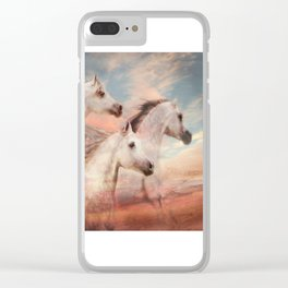 Windswept Clear iPhone Case