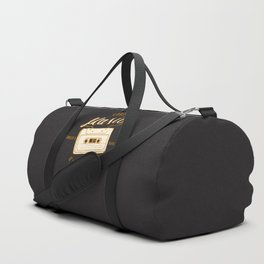 Good Music Cassette Duffle Bag