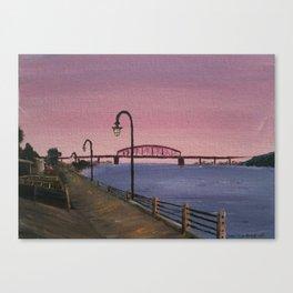 NC Beach Inspired 12 Canvas Print