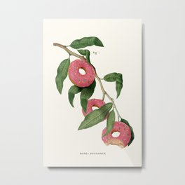 Donut Plant Metal Print