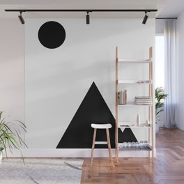 Landscape | Black Mountains Wall Mural