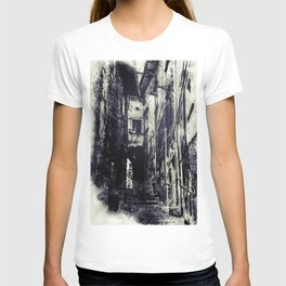 Italian village T-shirt