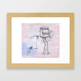 Pianotree Framed Art Print