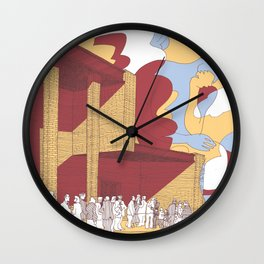 The Death Is Not The End Wall Clock