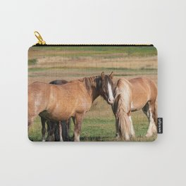 Gypsy Vanner Horses 0271 - Colorado Carry-All Pouch