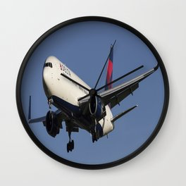 Delta Airlines Boeing 767-332 Wall Clock