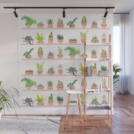 Green Thumb Wall Mural