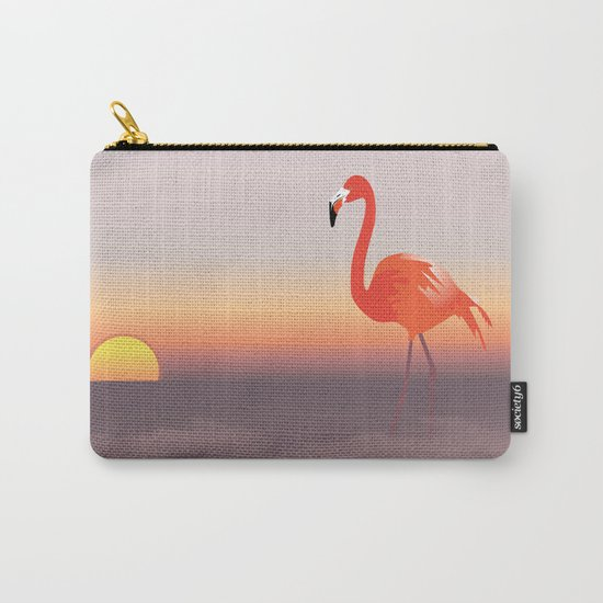 Floating diva in pink Carry-All Pouch