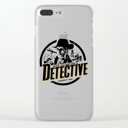 Nick Valentine - Detective Clear iPhone Case