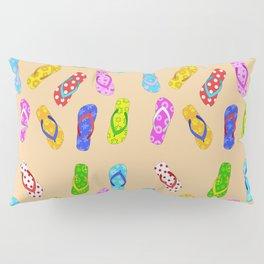 Flip Flops Pattern Pillow Sham