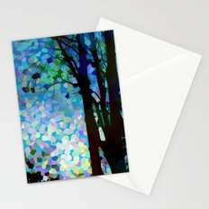 Blue Raspberry Jellybean Skies Stationery Cards