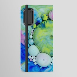 Bubbles-At - Gazer Android Wallet Case