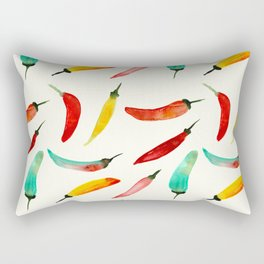 Hot chili peppers Rectangular Pillow