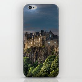 Storm Clouds over Stirling Castle iPhone Skin