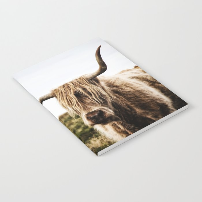 Highland Cow - color Notebook