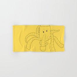 Crinkled Cephalopod Hand & Bath Towel