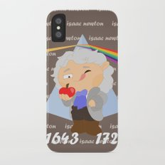 Isaac Newton iPhone X Slim Case