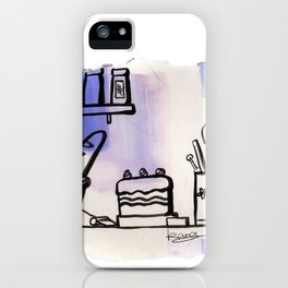 Food ingredients iPhone Case