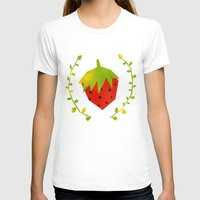 strawberry T-shirts featuring Strawberry by Strawberringo