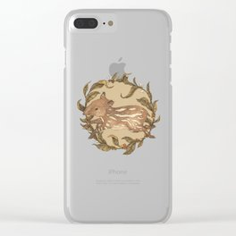 Living Fossil Clear iPhone Case