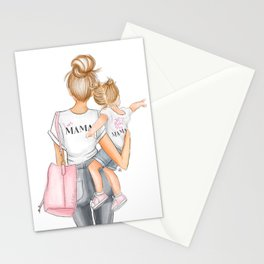I got it from my mama toddler girl red heads Stationery Cards