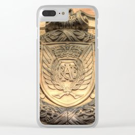 Royal Airforce Insignia Clear iPhone Case