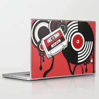 hiphop Laptop & iPad Skins featuring Retro by Square Lemon