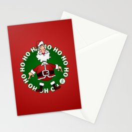 Santa Claus: Ho Ho Ho Stationery Cards