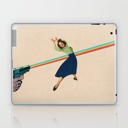 Dodged A Bullet Laptop & iPad Skin