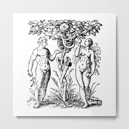 Adam & Eve Metal Print