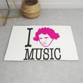 I __ Music Rug