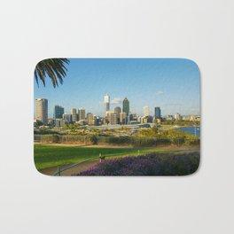 Perth City Skyline, Western Australia Bath Mat