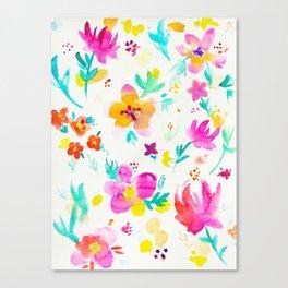 A Little Tropical Canvas Print