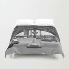 Paris transport Duvet Cover