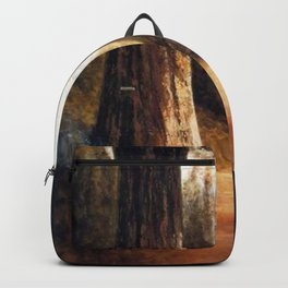 Giant Sequoia Grove by Thomas Hill Backpack