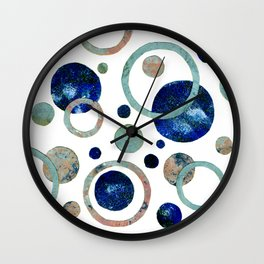Music of the heavenly spheres Original Modern Art Collage Wall Clock