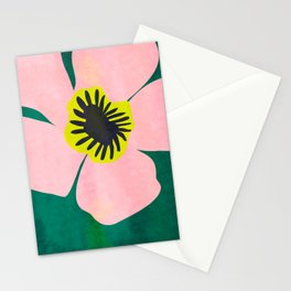 Pink Bloom No 01 Stationery Cards