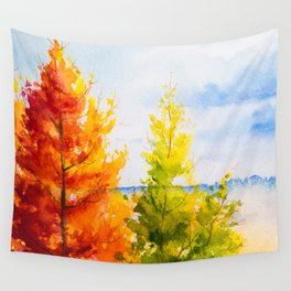 Autumn scenery #21 Wall Tapestry