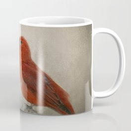 Song of the Summer Tanager 1 - Birds Coffee Mug